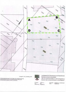 Commercial building site for sale in Magdeburgh-Rothensee, Germany