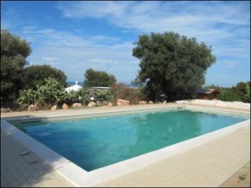 Mediterranean villa with pool and sea view / EfG 666-IDD, 72012 Carovigno, Italy