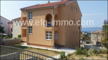 New 67 m² Apartment 3 rooms, balcony, sea view / EfG 11280-67-K, 51260 Selce, Croatia