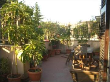 Rome Apartment with terrace and view / EfG 11579-K, 00165 Rom, Italy