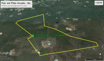 Farm / Ranch for sale in Pilão Arcado, Brazil