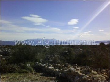 Dalmatia Plot with sea view / EfG 11608-S, 21220 Trogir, Croatia