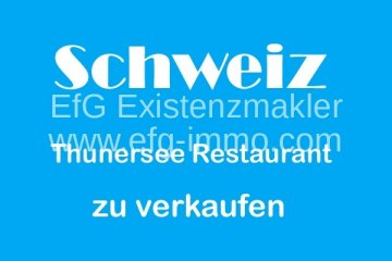 Restaurant with terrace and apartment / EfG 11740-ZU, 3600 Thun, Switzerland