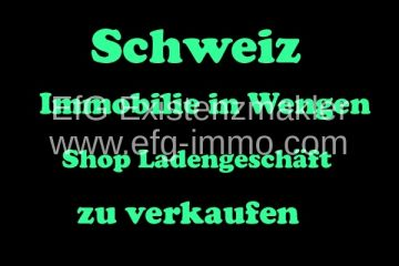 Property Wengen Shop for sale / EfG 11740-ZU, 3823 Wengen, Switzerland
