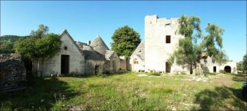 Apulia Ostuni Masseria Farm with sea view / EfG 1519-IDD, 72017 Ostuni, Italy