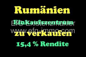 nvestment Shopping center in Romania | EfG 12053-K, 61000 Piatra Neamt, Romania