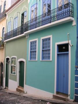 Townhouse in the historical center of Salvador with 1500 m² constructed area and colonial front, 40301-408 Salvador, Brasilien