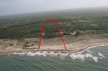 Beach lot with 93.500 m² with environmental license ready for construction in Sao Miguel do Gostoso, 59585-000 São Miguel de Touros, Brezilya