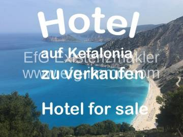 Hotel for sale in Αργοστόλι-Ionische Inseln, Greece