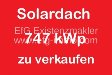 istema a tetto solare 747 kWp | EfG 12583-H, 06667 Weißenfels, Germania