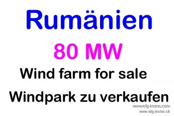 rad wind farm 80 MW project for sale | EfG 12679-N, 310001 Arad, Romania